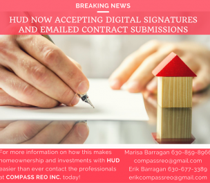 HUD NOW ACCEPTS E-SIGS!